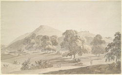 Scene near Pir Pahar, Monghyr district (Bihar). 21 October 1788